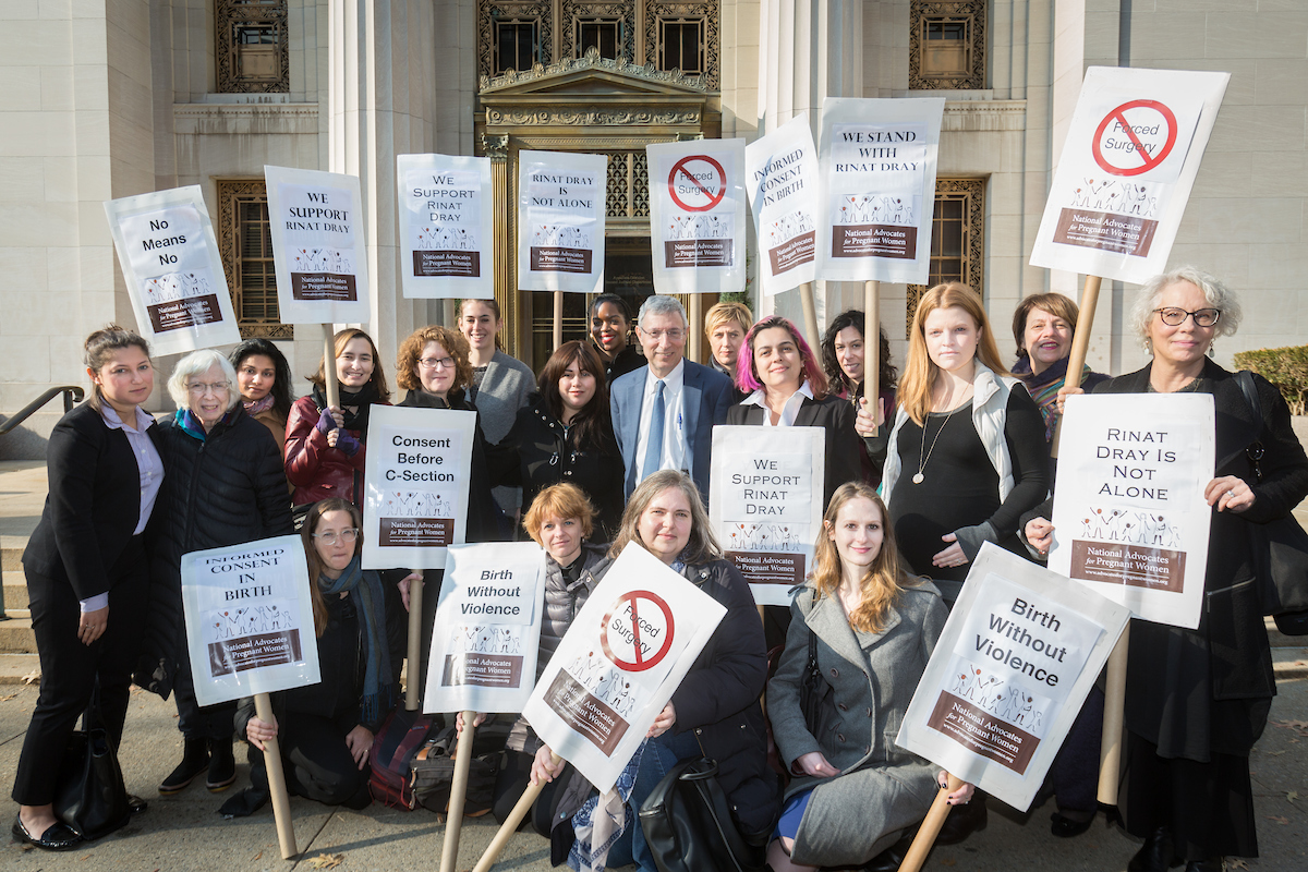 NAPW and Allies Support Rinat Dray