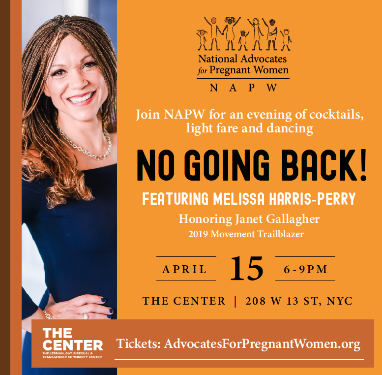 Join Us on April 15 for No Going Back!