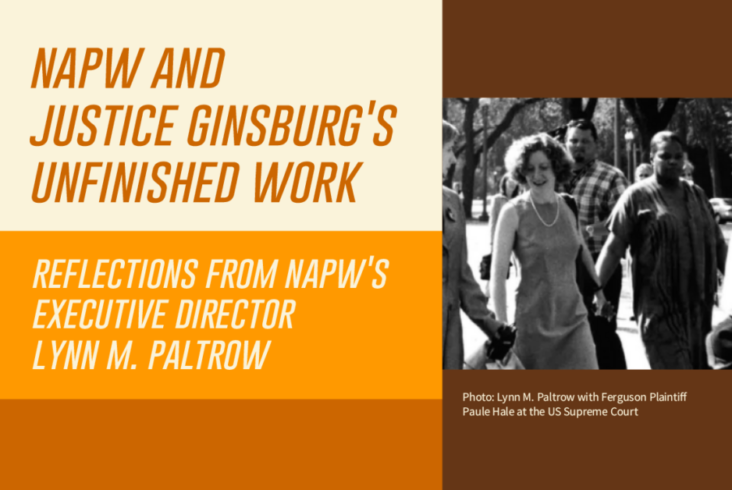 NAPW and Justice Ginsburg's Unfinished Work