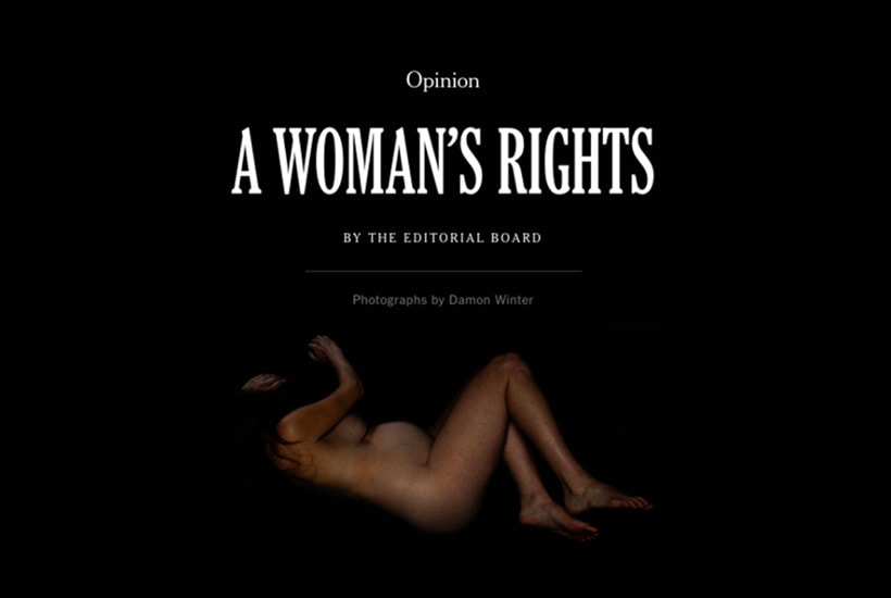 """The New York Times Series """" A Woman's Rights"""" (DOWNLOAD PDFs)"""