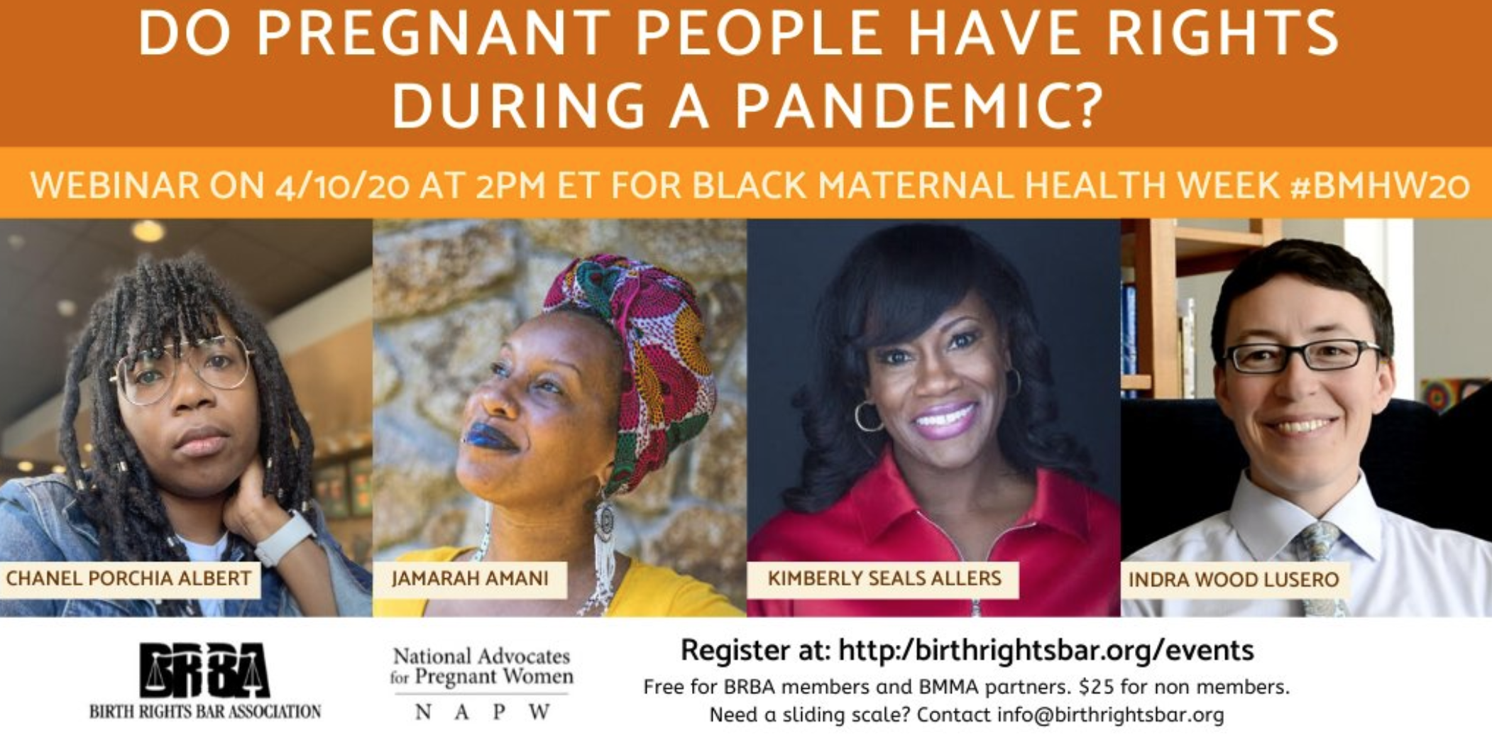 NAPW/BRBA Webinar: Do Pregnant People Have Rights During a Pandemic?