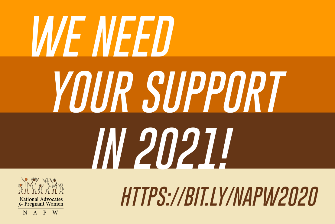 We Need Your Support in 2021!