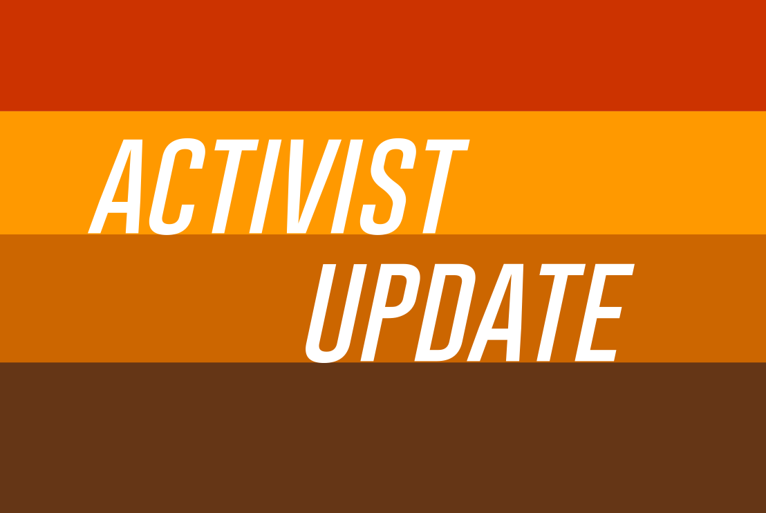 Activist Update: NAPW Springing into Action!